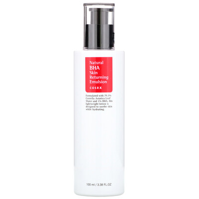 Natural BHA Skin Returning Emulsion, 3.38 fl oz (100 ml)