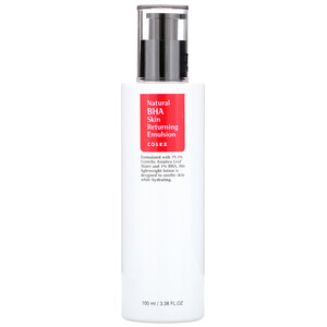 Косркс, Natural BHA Skin Returning Emulsion,  3.38 fl oz (100 ml) отзывы покупателей