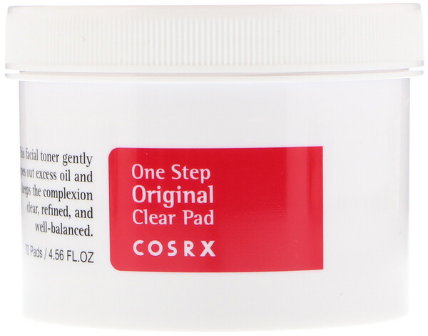 Cosrx, 1 Step Pimple Clear Pad, 70 Pads, (4.56 fl oz)