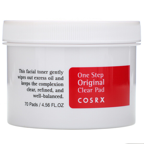 One Step Pimple Clear Pad, 70 Pads, (4.56 fl oz)
