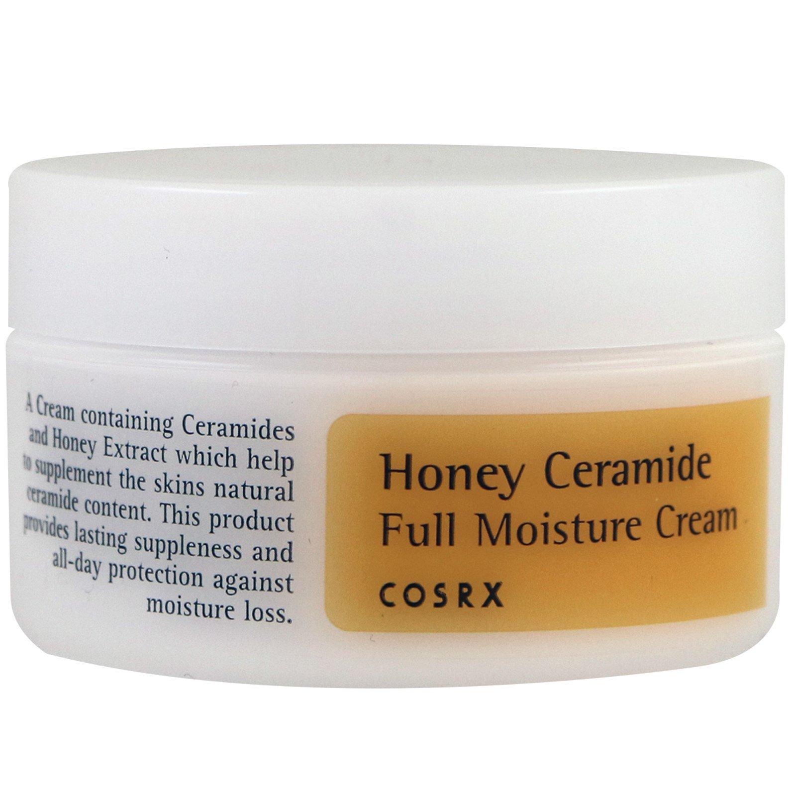 Cosrx, Медовый увлажняющий крем с керамидами, 50 мл