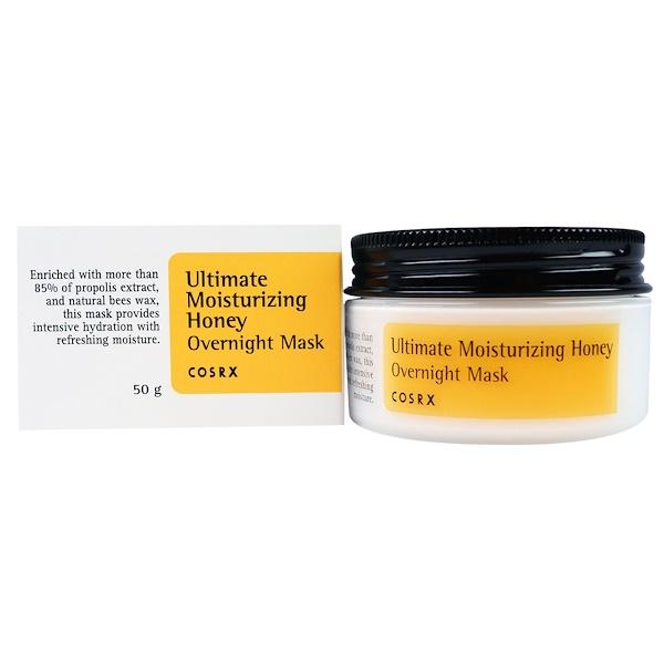Cosrx, Ultimate Moisturizing Honey, Overnight Mask, 50 g (Discontinued Item)