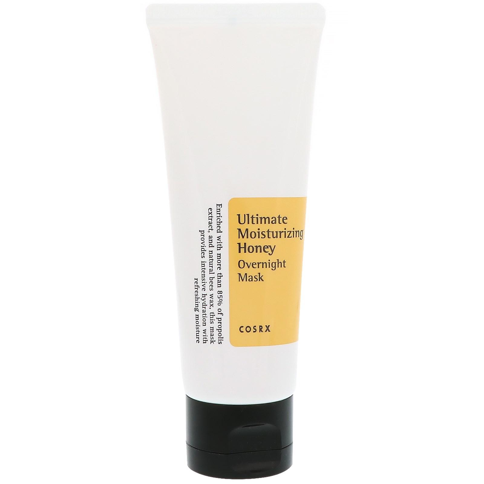 Cosrx, Ultimate Moisturizing Honey, Overnight Mask, 2.02 fl oz (60 ml)