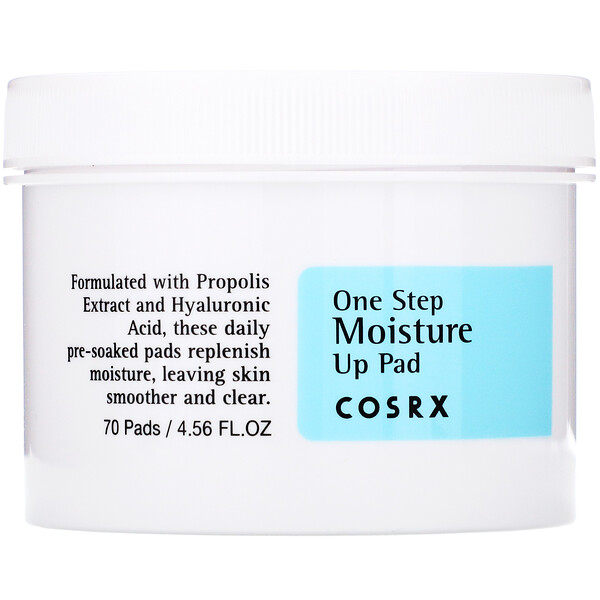 Cosrx, One Step Moisture Up Pad, 70 Pads (135 ml)