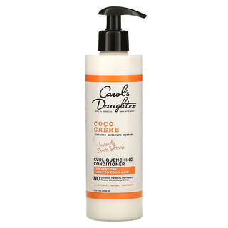 Carol's Daughter, Coco Creme, Intense Moisture System, Curl Quenching Conditioner, For Very Dry, Curly to Coil Hair, 12 fl oz (355 ml)