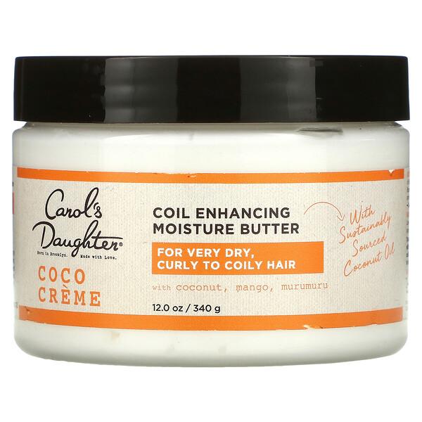 Coco Creme, Coil Enhancing Moisture Butter, 12 oz (340 g)