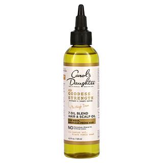 Carol's Daughter, Goddess Strength, Strength & Length System, 7 Oil Blend Hair & Scalp Oil, 4.2 fl oz (125 ml)