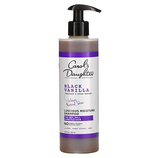 Carol's Daughter, Black Vanilla, Moisture & Shine System, Luscious Moisture Shampoo, For Dry, Dull & Brittle Hair, 12 fl oz (355 ml)