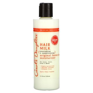 Carol's Daughter, Hair Milk,滋养和护发,原装免洗保湿霜,适合卷发、卷曲、扭结和波浪卷,8 液量盎司(236 毫升)