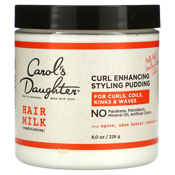Hair Milk, Conditioning, Curl Enhancing Styling Pudding, 8 oz (226 g)