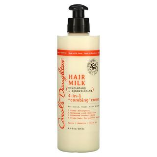 Carol's Daughter, Hair Milk,滋养和护发,4 合 1 梳理霜,8 液量盎司(236 毫升)