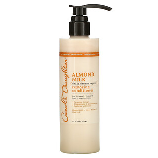 Carol's Daughter, Almond Milk, Daily Damage Repair, Restoring Conditioner, For Extremely Damaged, Over-Processed Hair, 12 fl oz (355 ml)