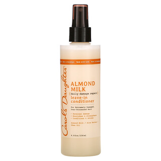 Carol's Daughter, Almond Milk, Daily Damage Repair, Leave-In Conditioner, For Extremely Damaged, Over-Processed Hair, 8 fl oz (236 ml)