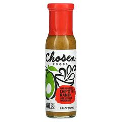 Chosen Foods, Pure Avocado Oil, Dressing & Marinade, Chipotle Ranch, 8 fl oz (237 ml)