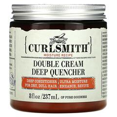 Curlsmith, 雙重奶油深層護理控制劑,適用於乾枯發質,8 液量盎司(237 毫升)