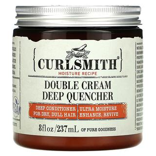 Curlsmith, Double Cream Deep Quencher, For Dry, Dull Hair, 8 fl oz (237 ml)