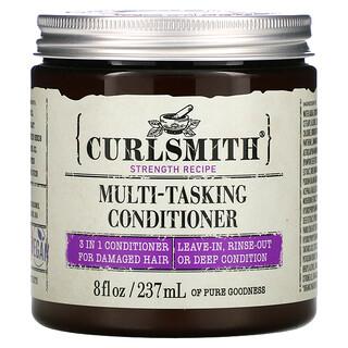 Curlsmith, Multi-Tasking 3 In 1 Conditioner,  For Damaged Hair, 8 fl oz (237 ml)