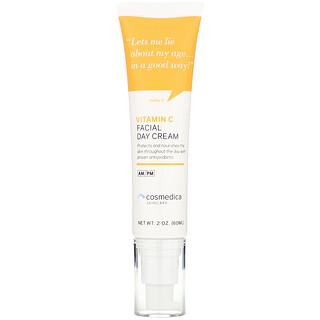 Cosmedica Skincare, Vitamin C Facial Day Cream, 2 oz (60 ml)