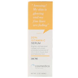Cosmedica Skincare, 20% Vitamin C Serum, 2 oz (60 ml)