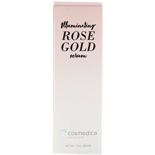 Cosmedica Skincare, Illuminating Rose Gold Serum, 2 oz (60 ml)