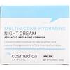 Cosmedica Skincare, Multi-Active Hydrating Night Cream, Advanced Anti-Aging Formula, 1.76 oz (50 g)
