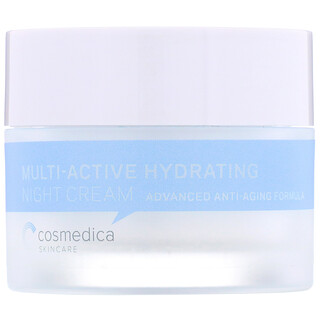 Cosmedica Skincare, 多重活性補水晚霜,高級逆齡配方,1.76 盎司(50 克)