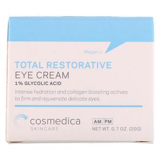 Cosmedica Skincare, Полностью восстанавливающий крем для кожи вокруг глаз, 0,7 унц. (20 г)