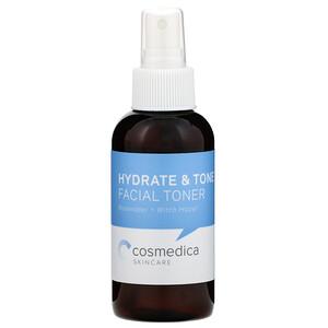 Cosmedica Skincare, Hydrate & Tone Facial Toner, Rosewater + Witch Hazel, 4 oz (120 ml) отзывы покупателей