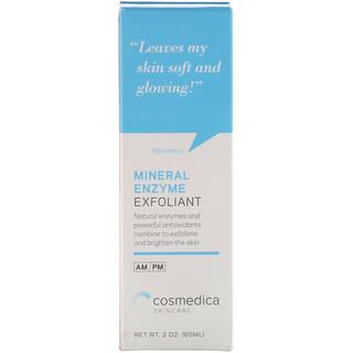 Cosmedica Skincare, Минеральное ферментное отшелушивающее средство, 2 унции (60 мл)