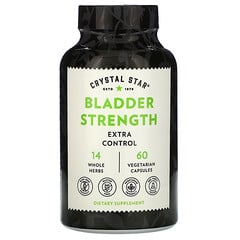 Crystal Star, Bladder Strength 膀胱力量,60 粒素食膠囊