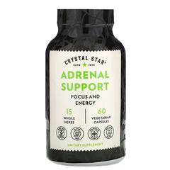 Crystal Star, 腎上腺支持,60 粒素食膠囊
