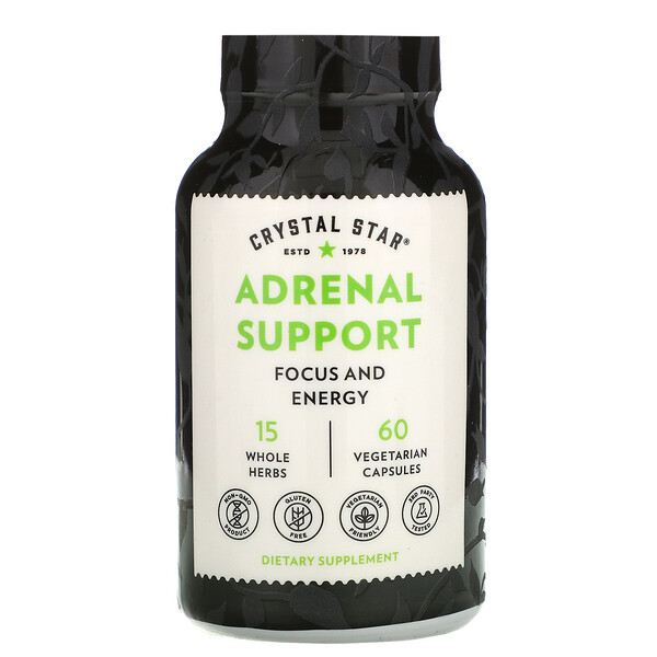 Adrenal Support, 60 Vegetarian Capsules