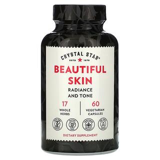 Crystal Star, Beautiful Skin, 60 Vegetarian Capsules