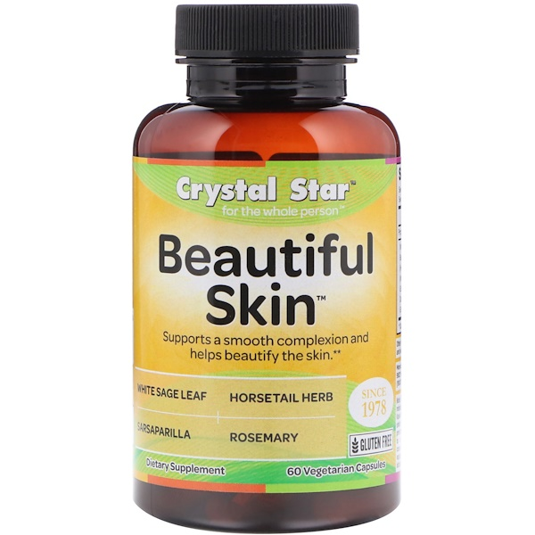 Beautiful Skin, 60 Vegetarian Capsules
