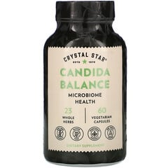Crystal Star, Candida Balance™ 素食膠囊,60 粒裝