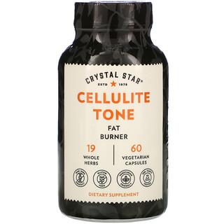 Crystal Star, Cellulite Tone, 60 Vegetarian Capsules