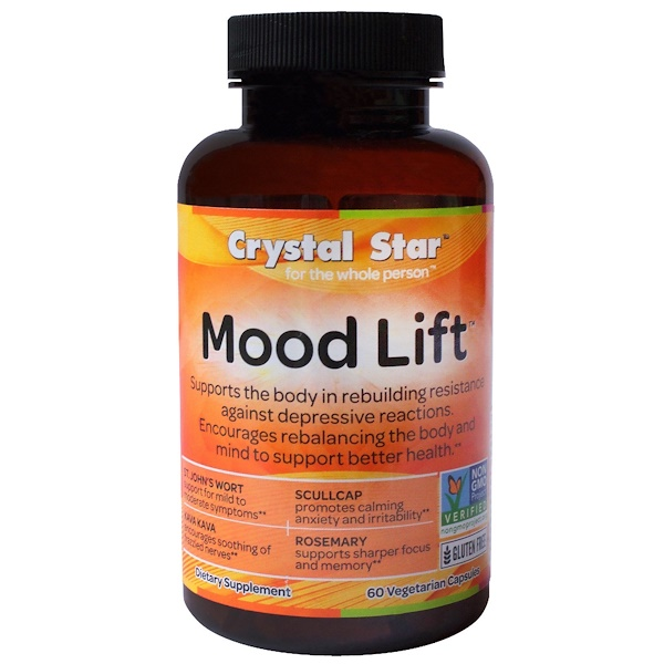 Mood Lift, 60 Vegetarian Capsules