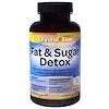 Crystal Star, 脂肪 & 糖分デトックス、 60ベジタリアンカプセル
