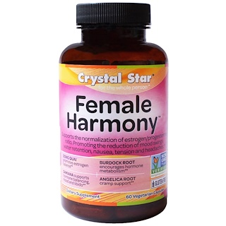 Crystal Star, Female Harmony, 90 식물성 캡슐