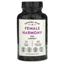 Crystal Star, Female Harmony 更年期支持素食膠囊,60 粒裝