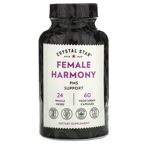 Female Harmony, PMS Support , 60 Vegetarian Capsules