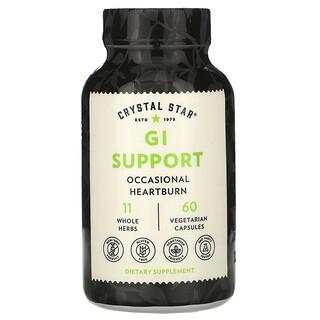 Crystal Star, Suplemento de apoyo para el tracto gastrointestinal, 60cápsulas vegetales