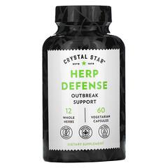 Crystal Star, Herp Defense,60 粒素食膠囊