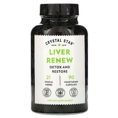 Crystal Star, 肝臟保護補充劑,90 粒素食膠囊