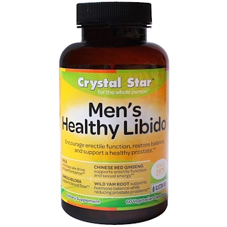 Crystal Star, Men's Healthy Libido, 60 Veggie Caps