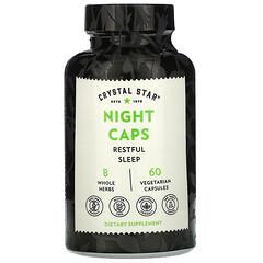 Crystal Star, 睡眠支持膠囊,60 粒素食膠囊