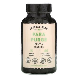 Crystal Star, Para Purge, 60 Vegetarian Capsules