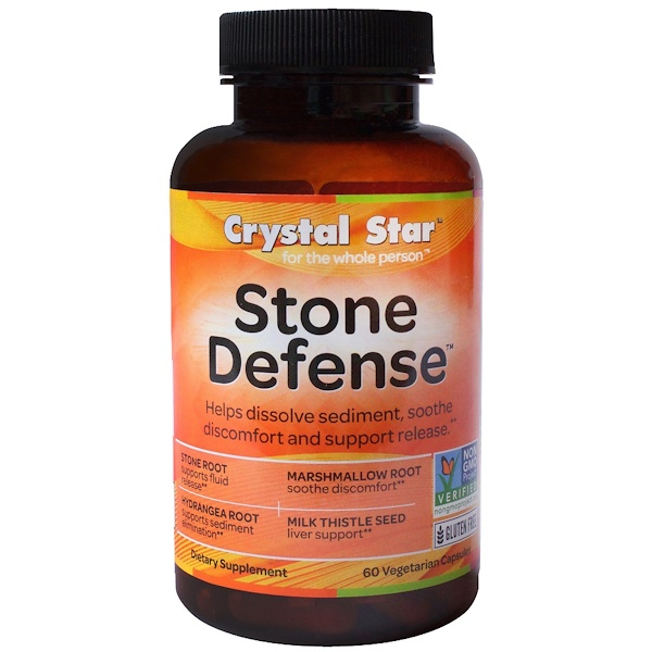 Crystal Star, Stone Defense, 60 Veggie Caps