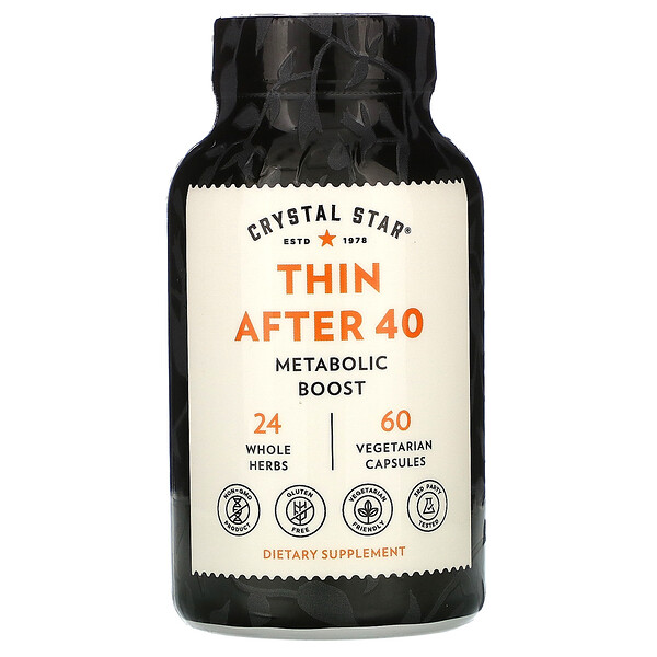 Thin After 40, 60 Vegetarian Capsules