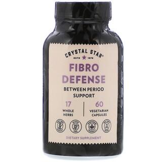 Crystal Star, Fibro Defense, 60 Vegetarian Capsules